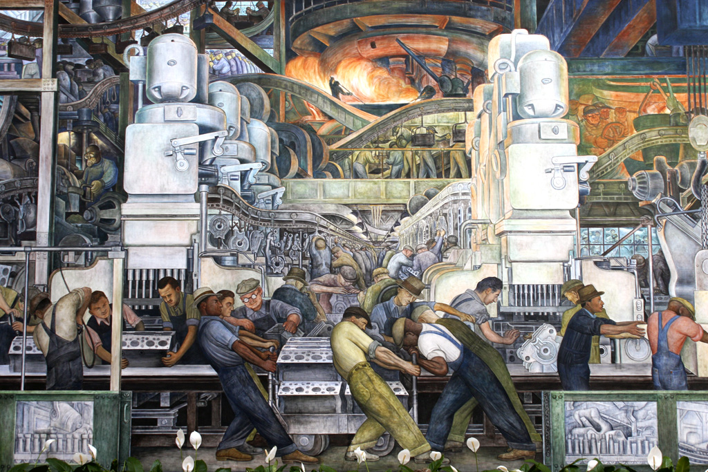 Diego Rivera_Detroit Industry